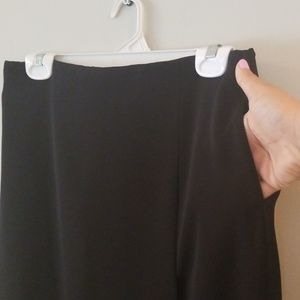 2b16a63cd Uniqlo Skirts | Women High Waist Drape Wrap Skirt Black Sz M | Poshmark